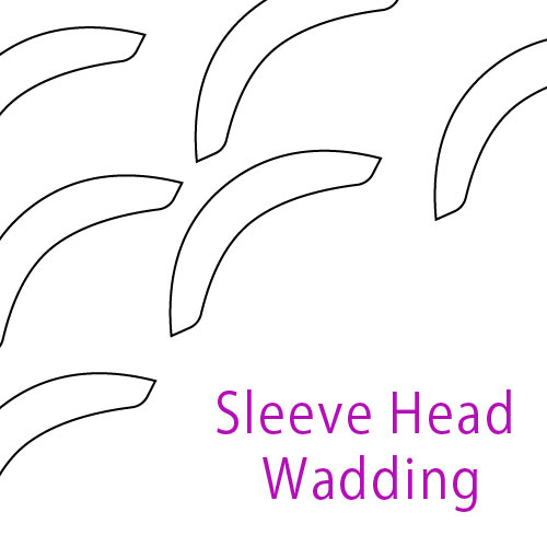 Sleeve Head Wadding