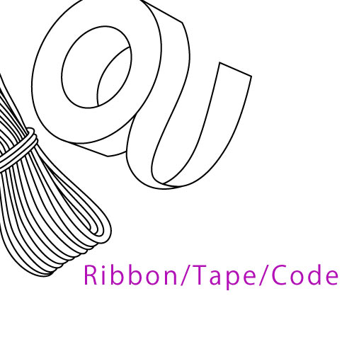 Ribbon Tape Cord